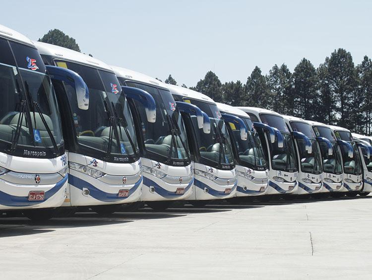 aluguel de ônibus em SP