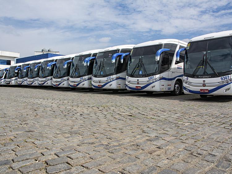 Aluguel, locação, fretamento de ônibus barato - 1