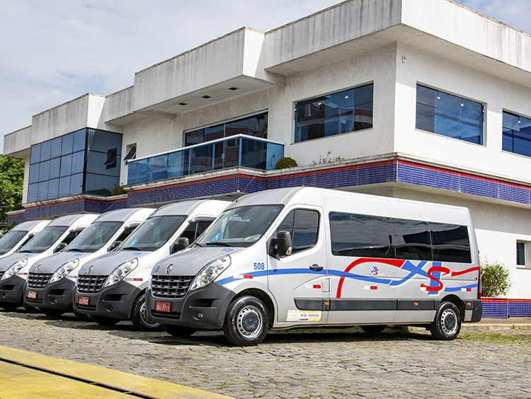 fretamento, aluguel. Locação de vans em Guarulhos