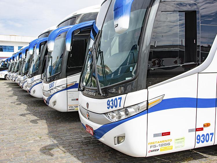 Fretamento contínuo de ônibus, micro ônibus e vans - 2