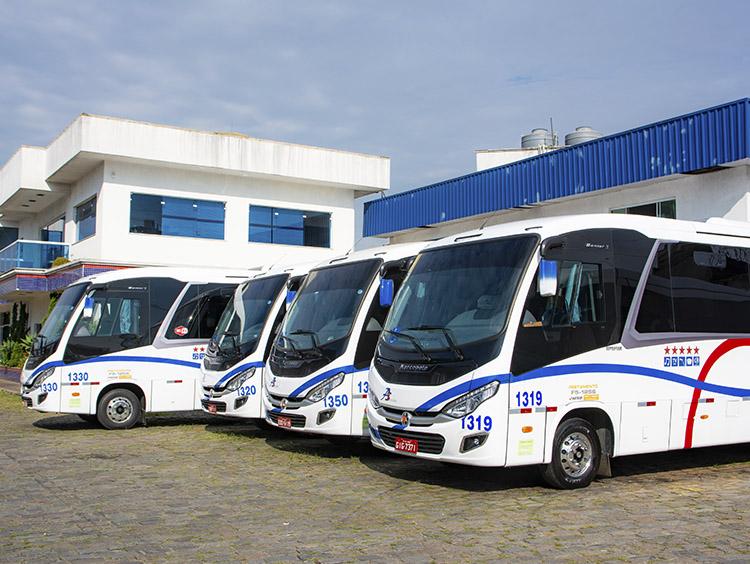 fretamento de micro-ônibus em Alphaville