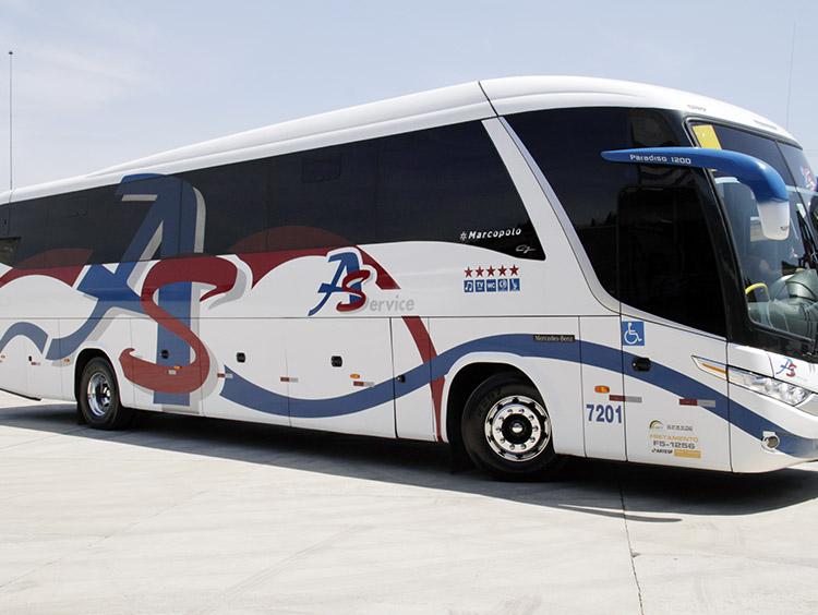 fretamento de ônibus em Alphaville
