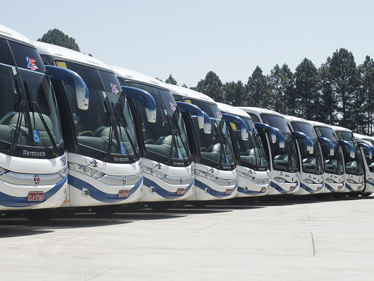 Fretamento de ônibus em Alphaville - 2