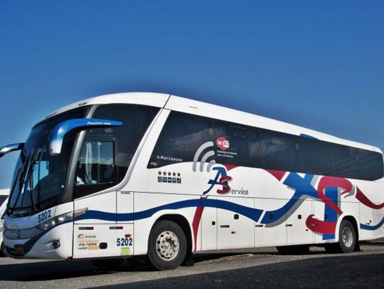 Fretamento de ônibus em SP - 2