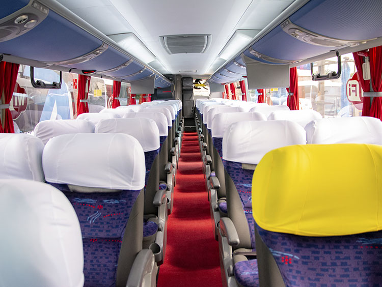 locação de ônibus em SP