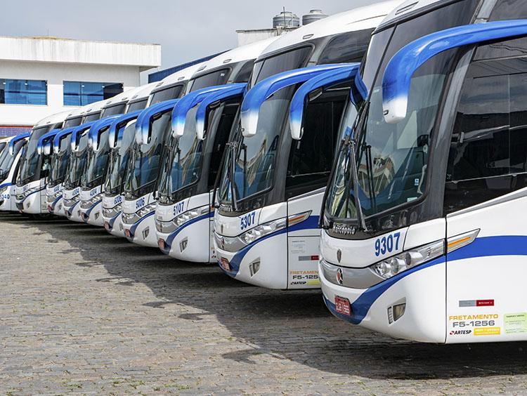 locação de ônibus preço